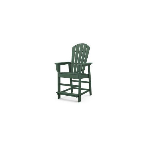 Polywood Furnishings - South Beach Counter Chair in Green