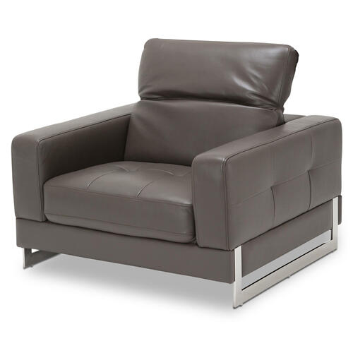 Novelo Leather Match Chair
