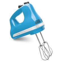 5-Speed Ultra Power Hand Mixer Crystal Blue