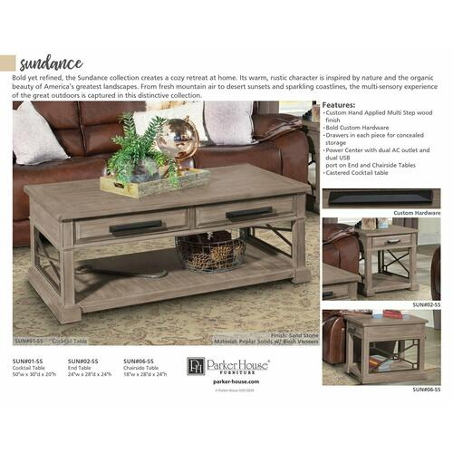 Parker House - SUNDANCE - SANDSTONE Everywhere Console Table