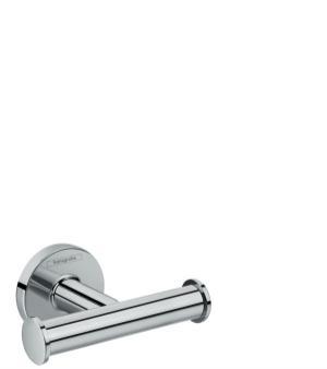 Chrome Dual Towel Hook Product Image