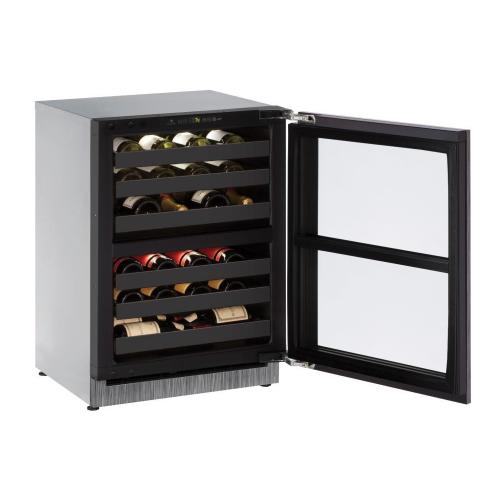 "24"" Dual-zone Wine Refrigerator With Integrated Frame Finish (230 V/50 Hz Volts /50 Hz Hz)"