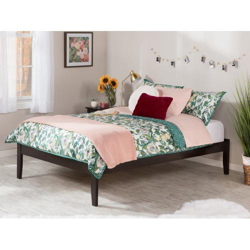 Concord Queen Platform Bed in Espresso