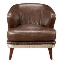 Preston Club Chair Brown