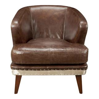 Preston Club Chair Brown