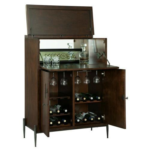 695-199 Open Cellar II Wine & Bar Cabinet