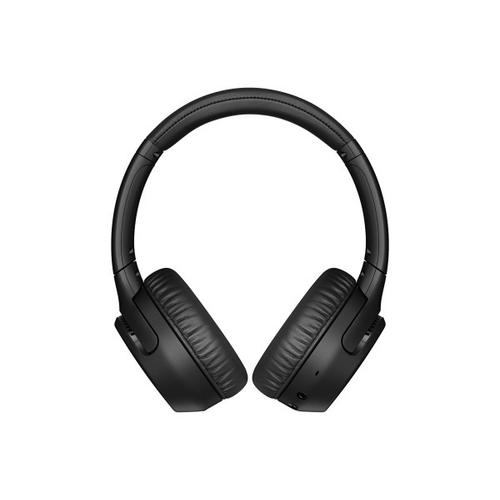 Sony - Wireless On-ear EXTRA BASS™ Headphones with Microphone - Black