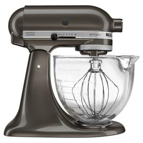 Artisan® Design Series 5 Quart Tilt-Head Stand Mixer with Glass Bowl Truffle Dust