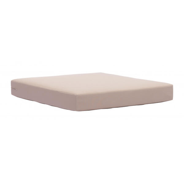 Glass Beach Seat Cushion Taupe