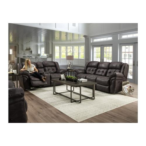 129-22-14  Reclining Console Loveseat