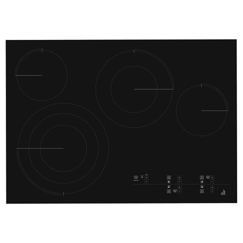 "Oblivian Glass 30"" Electric Radiant Cooktop with Glass-Touch Electronic Controls Black"