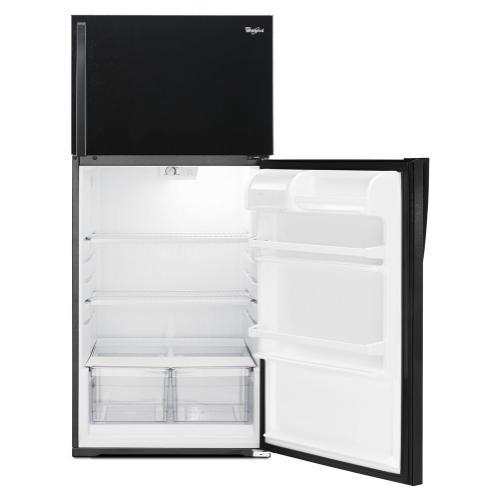 "Whirlpool Canada - Whirlpool 28"" Wide Top-Freezer Refrigerator with Freezer Temperature Control"