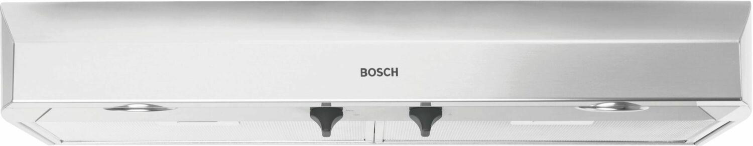 "Bosch500 Series, 36"" Under-Cabinet Hood, 400 Cfm, Halogen Lights, Stnls"