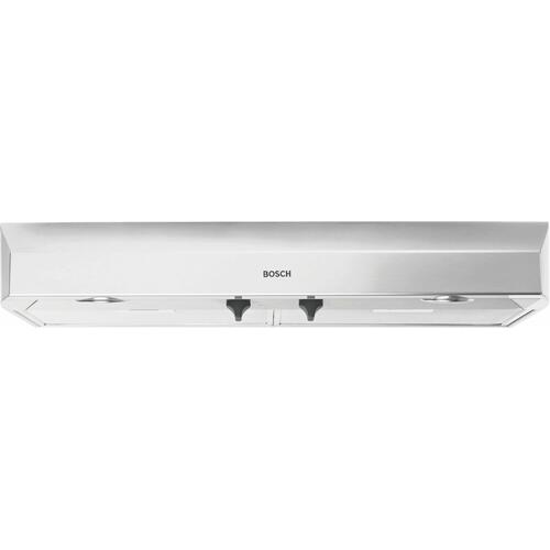 "500 Series, 36"" Under-cabinet Hood, 400 CFM, Halogen lights, Stnls"