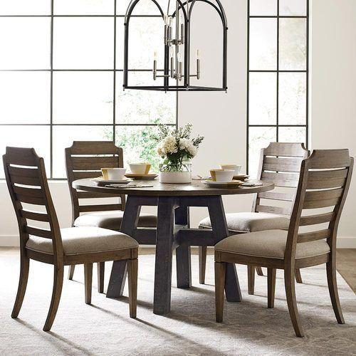 "Trails Layton 52"" Round Dining Table"