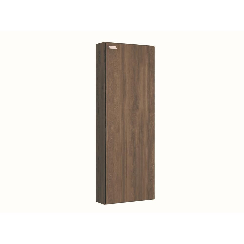 The Noa Shoe Rack Part Of Our Kd Collection In Dark Brown Oak Melamine