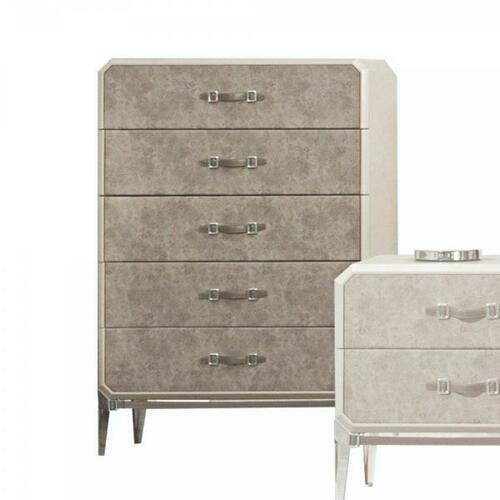 ACME Kordal Chest - 27206 - Vintage Beige PU