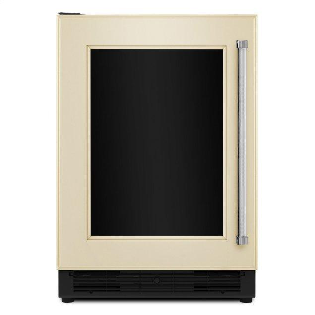 """Kitchenaid 24"""" Panel Ready Beverage Center with Glass Door Panel Ready"""