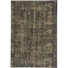 Woodgrain Charcoal Machine Woven Rugs