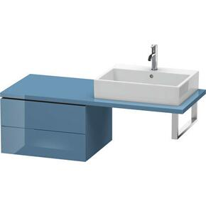 Low Cabinet For Console, Stone Blue High Gloss (lacquer)