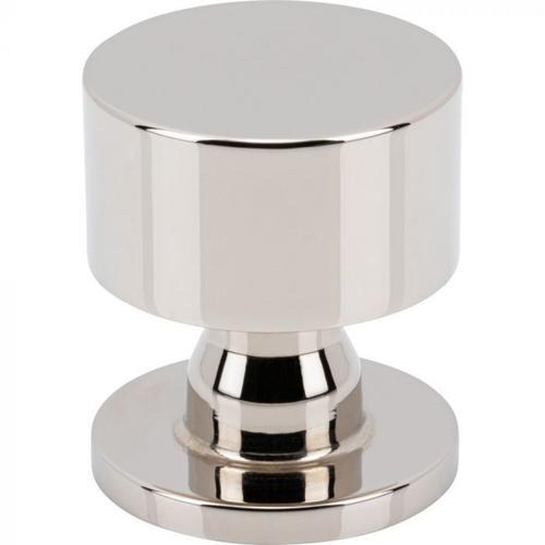 Vesta Fine Hardware - Dante Knob 1 1/8 Inch Polished Nickel Polished Nickel