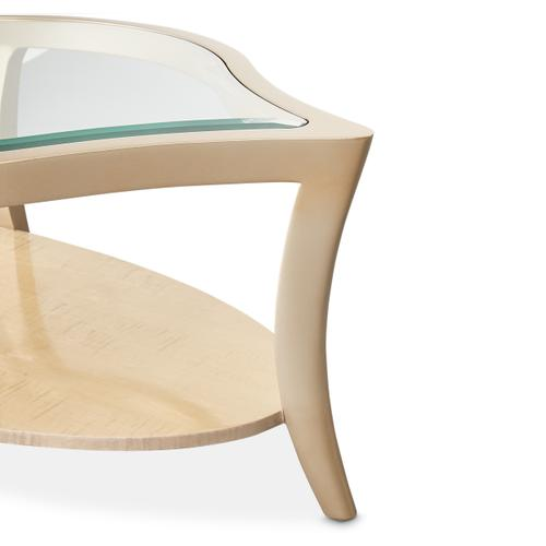 Amini - Cocktail Table W/glass