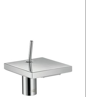 Polished Red Gold Single lever basin mixer 80 with pop-up waste set Product Image