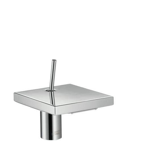 Polished Gold Optic Single lever basin mixer 80 with waste set