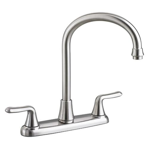 Colony Soft 2-Handle High-Arc Kitchen Faucet  American Standard - Stainless Steel