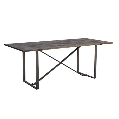 """Product Image - Old Mill 78"""" Geometric Dining Table"""