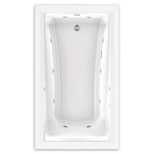 American Standard - Green Tea 60x36 inch EcoSilent Combo Massage Tub - White