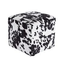 Accent Ottoman-Bremer Black/White