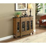 ACME Vidi Console Table - 90108 - Oak Product Image