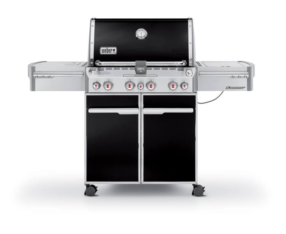 WeberSummit® E-470™ Lp Gas Grill - Black