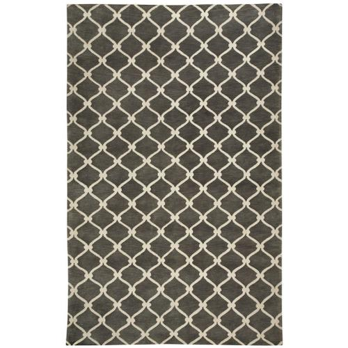 Fence Charcoal - Rectangle - 5' x 8'