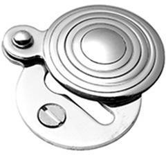 Bronze Finish Round covered escutcheon
