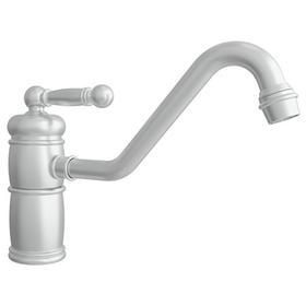 Satin Nickel - PVD Single Handle Kitchen Faucet