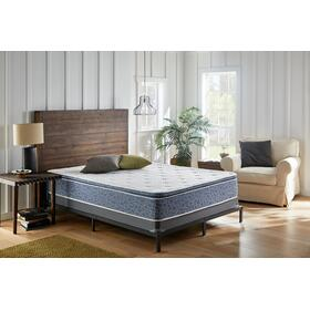 American Bedding 12-inch Plush Pillow Top Mattress in Box, Queen