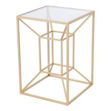 Canyon Side Table Gold