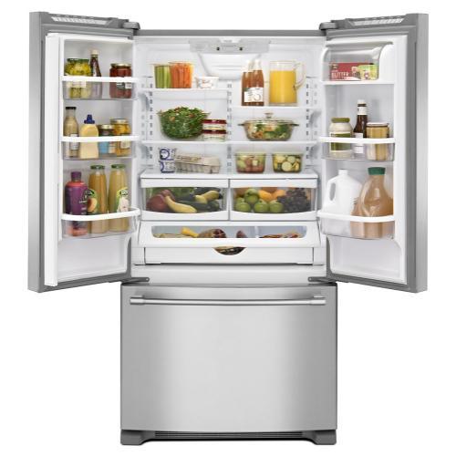 Maytag® 36-Inch Wide French Door Refrigerator - 25 Cu. Ft.