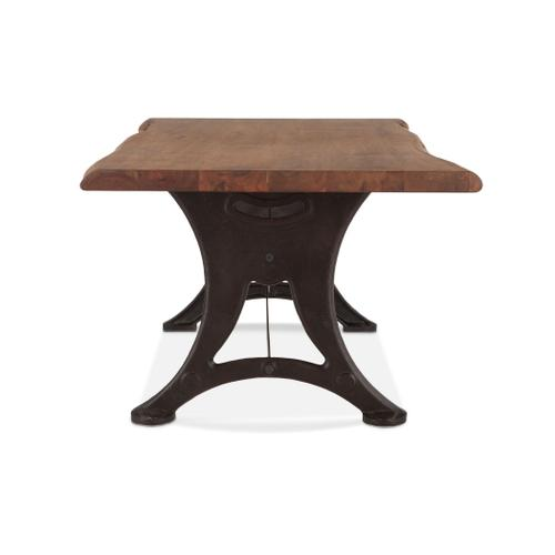 """Product Image - Organic Forge 72"""" Dining Table Raw Walnut"""