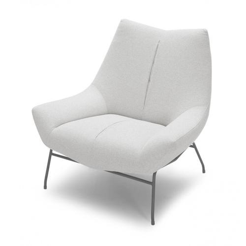 VIG Furniture - Divani Casa Colt - Modern White Lounge Chair