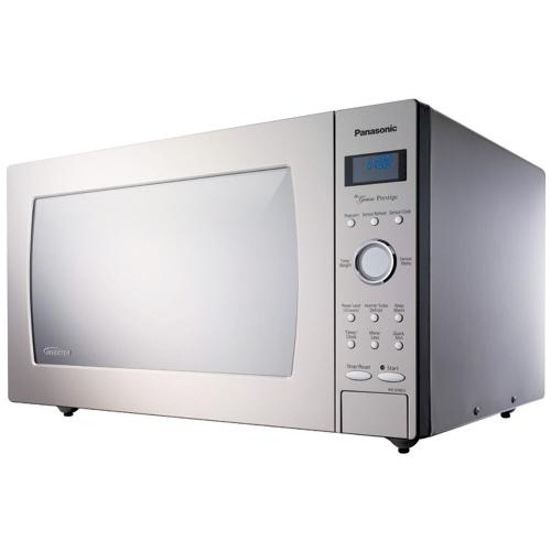 Panasonic - 2.2 Cu. Ft. Built-In/Countertop Microwave Oven with Inverter Technology - Stainless Steel - NN-SE982S