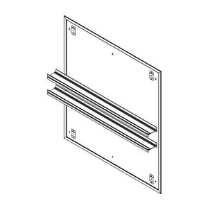 "Profiles 36"" X 40"" X 15/16"" Mirror Ganging Kit for A Seamless Transition With Profiles Cabinets and Profiles Lighting (depth Is 4-11/16"" When Surface-mounted) Product Image"