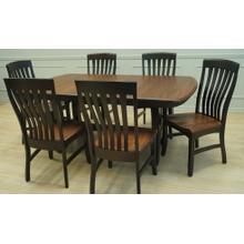 See Details - Solid Elm Dining Set