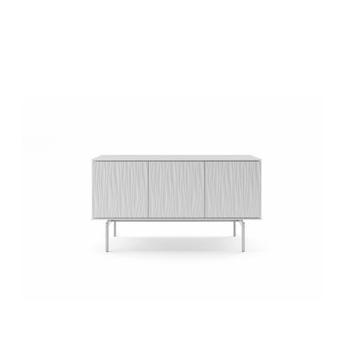 BDI Furniture - Tanami 7107 Storage Credenza in Smooth Satin White