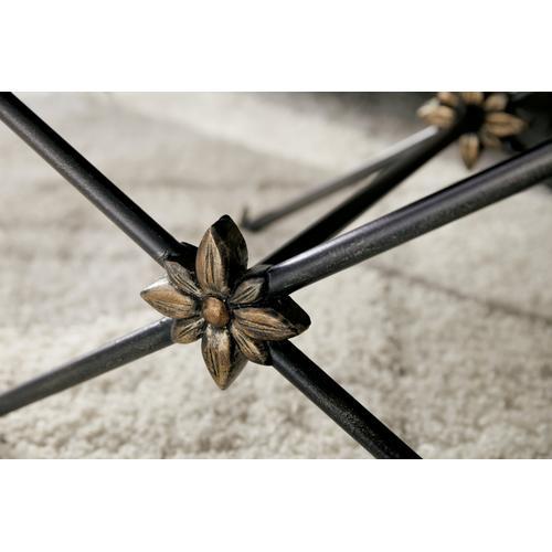 Hooker Furniture - Sanctuary Zebre Bed Bench