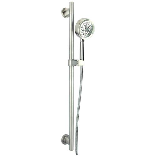 "Chrome Versa 30"" Slide Bar Assembly with Parma® 5-Function Handshower, 2.5gpm"