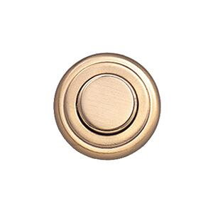 Push Knob Latch (round Knob, Satin Brass)
