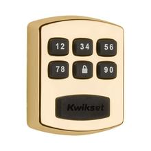 View Product - 905 Keywayless Electronic Deadbolt - Polished Brass